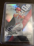 2020 Topps Chrome Mike Trout Wins Above Replacement Die Cut DOD 1 Angels Y131