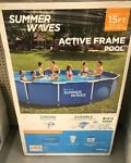 New Summer Waves Swimming Pool 15ft fast shipping last one!
