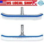 Swimming Pool Brush 18 Inch Aluminum Frame Equipment Cleaning Tools Accessories