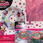 New Minnie Mouse 🎀 Swim Ring amp; Goggles Swimming Play Ages 3