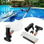 Portable Swimming Pool amp; Spa Pond Fountain Hot Tub Vacuum Cleaner Brush Cleaning