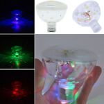 RGB Pool Show Spa Floating Swimming Underwater Garden LED Lamps Hot Lights Glow