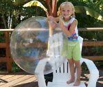 36quot; CRYSTAL CLEAR Inflatable Beach Ball Glossy Vinyl Fun POOL PARTY Decoration