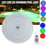 LED Underwater Pool Light RGB Color Changing Swimming Pool Light Bulb 120V 35W