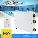 9KW 380V Electric Pool Swimming Pool SPA Heater Thermostat for Pump Heater