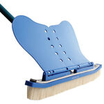 Wall Whale Classic 18 Inch Swimming Pool Wall Cleaning Brush w Nylon Bristles