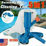 US Swimming Spa Pool Pond Suction Vacuum Head Brush Cleaner Fountain Clean Tool