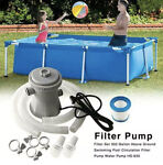 Electric Swimming Pool Filter Pump For Above Ground Tool Pool 110V 240V J7H5