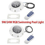 RGB LED Color Inground Pool Light Underwater Swimming Pool Light Bulb withRemote