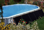 Fafco® (2) 2'x20' Add-On Above Ground Swimming Pool Solar Heater Panel