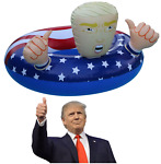 Donald Trump Pool Float XXL Best Summer 2018 Fun Inflatable Swimming Floats For