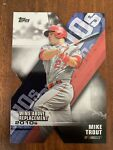 MIKE TROUT 2020 Topps Series 1 Wins Above Replacement Insert Die Cut SP