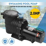 110 240V 2HP Inground Swimming Pool pump motor Strainer For Hayward Replacement