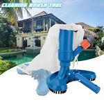Swimming Spa Pool Pond Fountain Vacuum Cleaner Vacuum Brush Cleaning Tool New