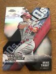 Mike Trout 2020 Topps Chrome X Wins Above Replacement Refractor DOD 1 LA Angels