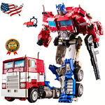 """OPTIMUS PRIME ACTION FIGURE 12"""" TRANSFORMERS STAR HEART ALLOY NEW GIFT Movie Toy"""
