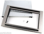 New Frigidaire Stainless Steel 30 Inch Built In Microwave Trim Kit Mwtk30kf