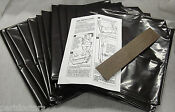 New 96 Pack Broan 12 Inch Plastic Trash Compactor Bags 93620008