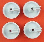Frigidaire Dishwasher Lower Wheel Part 154174401 154174501 154174502 4 Pack