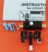 279347 Dryer Door Lid Switch Kit For Whirlpool Sears New