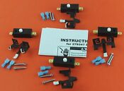 279347 Dryer Door Lid Switch Kit For Whirlpool Sears New 4 Pack
