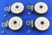 Maytag Dryer Roller Wheel Drum Support Kit 303373k For 12001541 312948 4 Pack