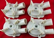 Whirlpool Kenmore Washer Washing Machine Water Pump For 3363394 New 4 Pack
