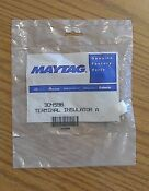 Maytag Repair Parts Replacement Terminal Insulator 304596 Dryer Electric