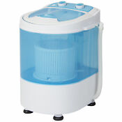 Portable Mini Small Compact Electric Washing Machine Laundry Spin 6 6 Lbs Washer