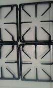Amana Replacement Stove Grates 4 Black