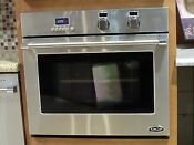 Wosv30 Dcs 30 Single True European Convection Wall Oven Display Never Used