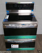New Kenmore Elite 97723 7 2 Cu Ft Double Oven Electric Range Stainless Steel