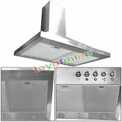 Gtc Europe 30 Kitchen Wall Mount Stainless Steel Range Hood Stove Vents