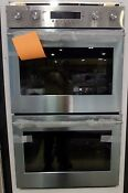 Zet2shss Euro Handle Luxury Double Wall Oven Dual Convection By Ge Monogram