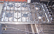 Viking Professional Series Cooktop 36 Vgsu1636bss Euc