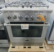 New Out Of Box 30 Inch Dcs Dual Fuel Stainless Steel Range
