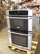 Electrolux 30 Stainless Wave Touch Double Oven Ew30mc65js 50 Off 3 995 List