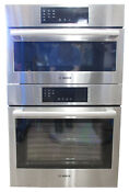Bosch Hbl8751uc 30 Speed Microwave And Wall Oven Combo
