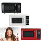 700w Microwave Oven Compact Led Digital Kitchen Counter Top Cooking Tool