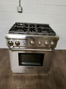Thermador Pro 30 Stainless Steel Natural Gas Convection Range Prg304gh