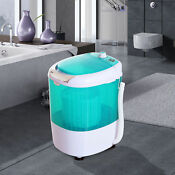New Bathroom Washing Machine Electric Laundry Spin Washer Dryer Us