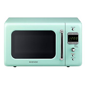 Retro Microwave Oven 0 7 Cu Ft Small Space Kitchen Appliance Apartment Cooking