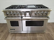 Viking Professional 7 Series Vdr7486gss 48 Inch Pro Style Dual Fuel Range