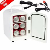 Portable Mini Fridge Cooler And Warmer Auto Car Boat Home Office Ac