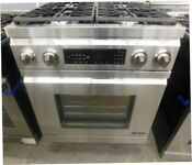 New Showroom Display Dacor 30 Dual Fuel Stainless Steel Range