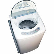 Washing Machine Apartment Size Dorm Small Compact 1 0 Cubic Portable Us