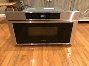 Bosch Hmd8053uc 30 800 Series Drawer Microwave In Stainless Steel 950w 1 2 Cf