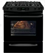 Frigidaire Ffgs3025pb 30 Inch Slide In Gas Range Black