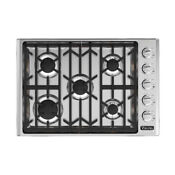 Viking 5 Series 30 Gas Cooktop Vgsu53015bss