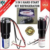 3 In 1 Hard Start Kit Supco For Refrigerator Relay Capacitator Overload Device